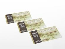 Chèque de fidélité 135 x 75 mm